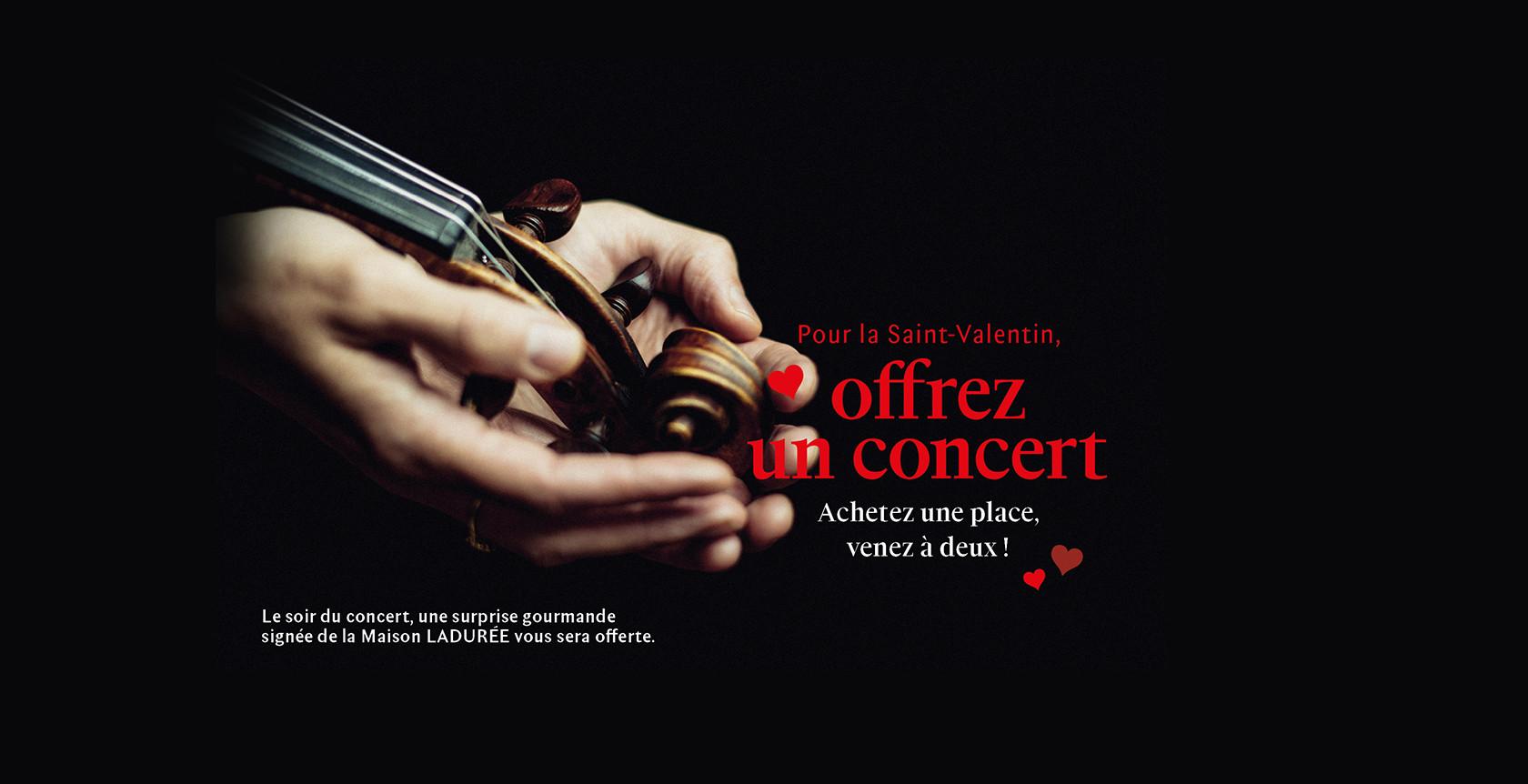Offrez un concert !