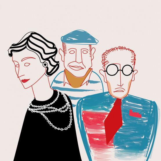 Annulé - Pablo, Serge, Coco et les autres / Corina Niemeyer