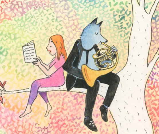 Stéphanie Childress / Pierre et le Loup